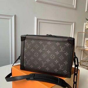 Louis Vuitton box bag Check description